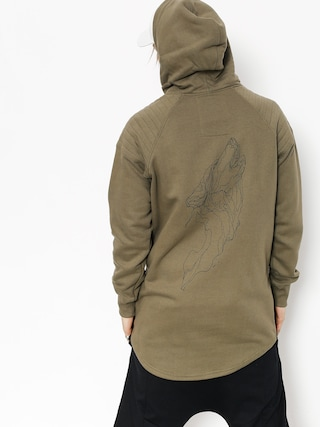 Majesty Hoodie Wolfshood HD (army green)