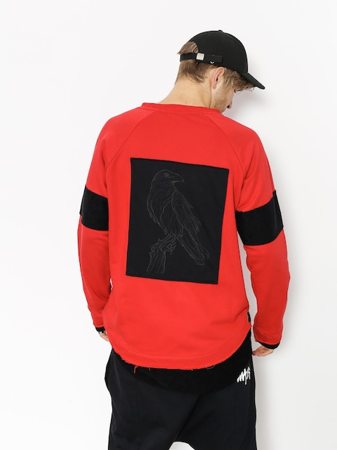 Majesty Sweatshirt Crow (red)
