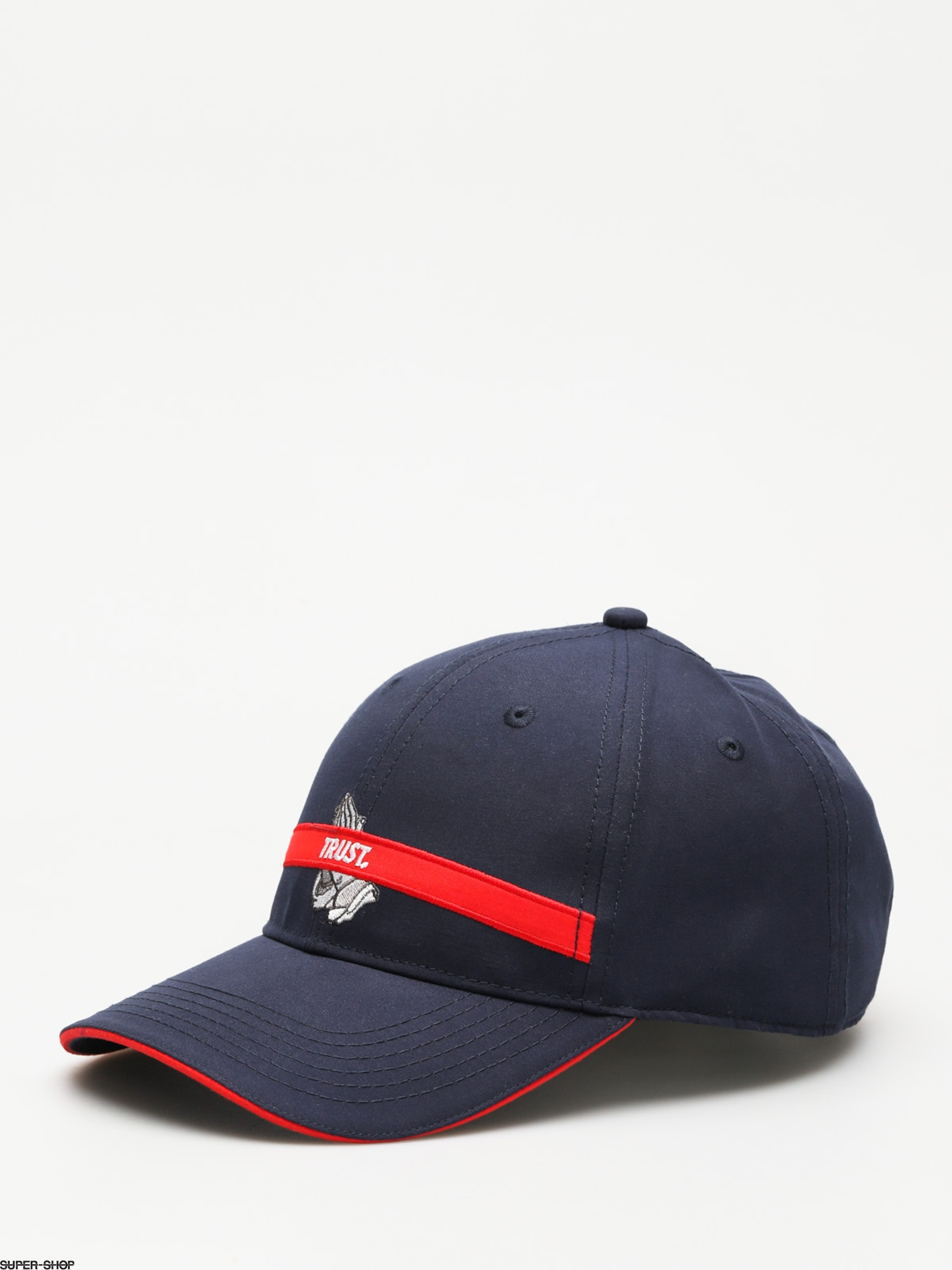 0c09b229afd Cayler   Sons Cap Trust Curved ZD (navy red)