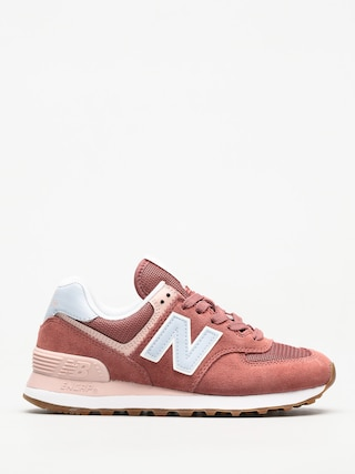 New Balance Shoes 574 Wmn (smoke pink)