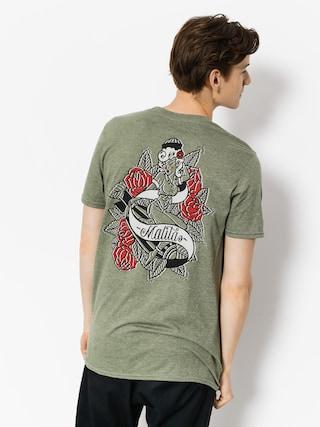 Malita T-Shirt Pin Up (heather green)
