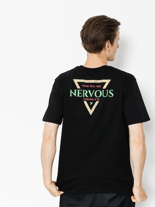 Nervous T-shirt Golden Tri (black)