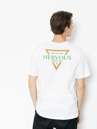 Nervous T-shirt Golden Tri (white)