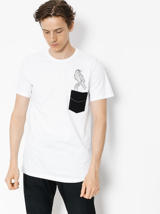 Majesty T-shirt Crow (white)