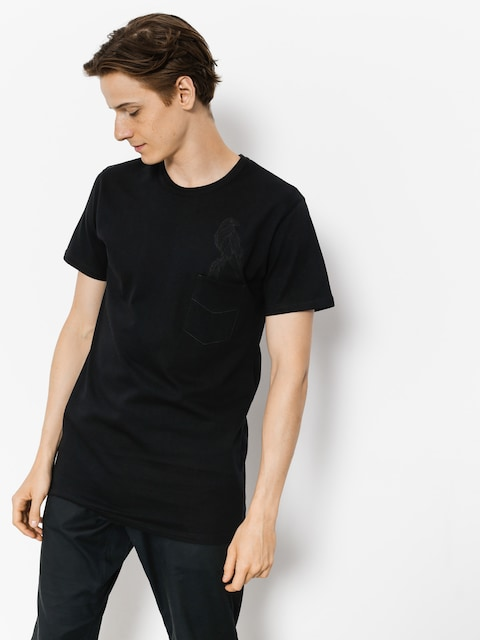 Majesty T-shirt Crow (black)
