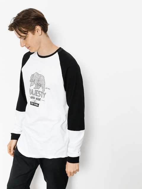Majesty Longsleeve Bear (black/white)