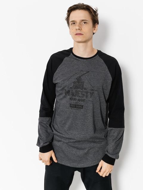 Majesty Longsleeve Lumberjack (black/graphite)