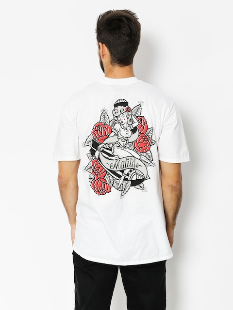 Malita T-shirt Pin Up (white)