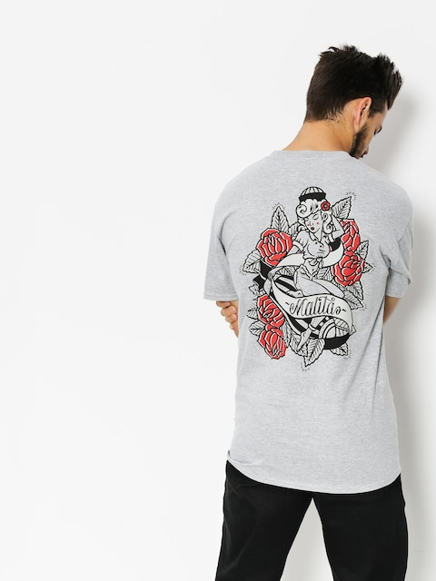 Malita T-Shirt Pin Up (heather grey)