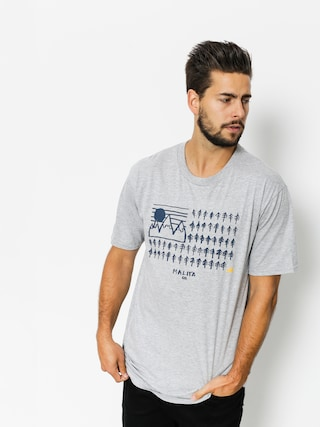 Malita T-shirt Flag (heather grey)