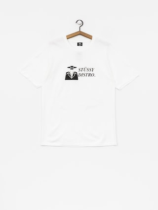 Stussy T-shirt Distro (white)