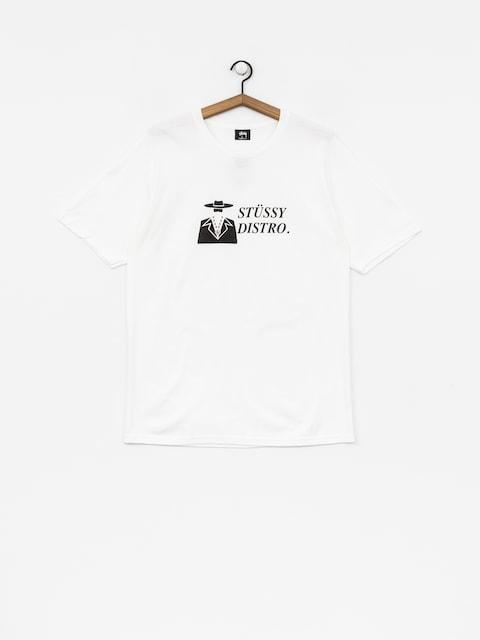 Stussy T-shirt Distro (white)