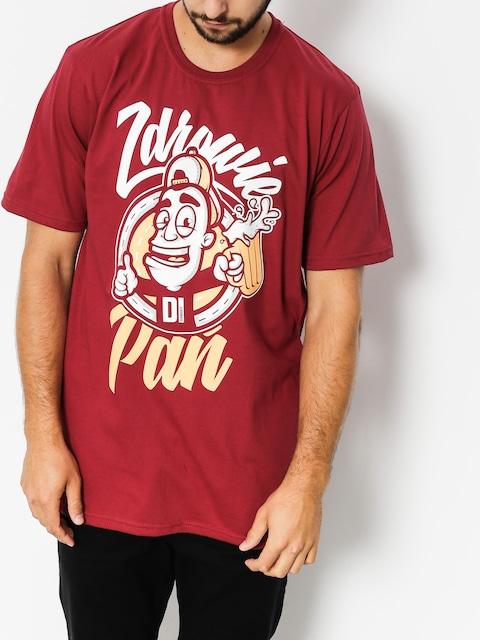 Diamante Wear T-Shirt Zdrowie Pań (burgundy)