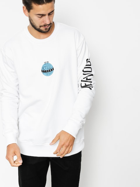 Nervous Sweatshirt Globe (white)