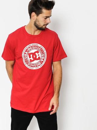 DC T-shirt Circle Star (tango red)