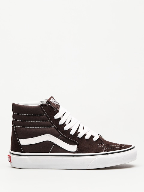 Vans Schuhe Sk8 Hi (chocolate torte/true white)