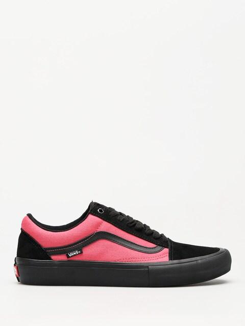 Vans Schuhe Old Skool Pro (asymmetry black/rose/blue)