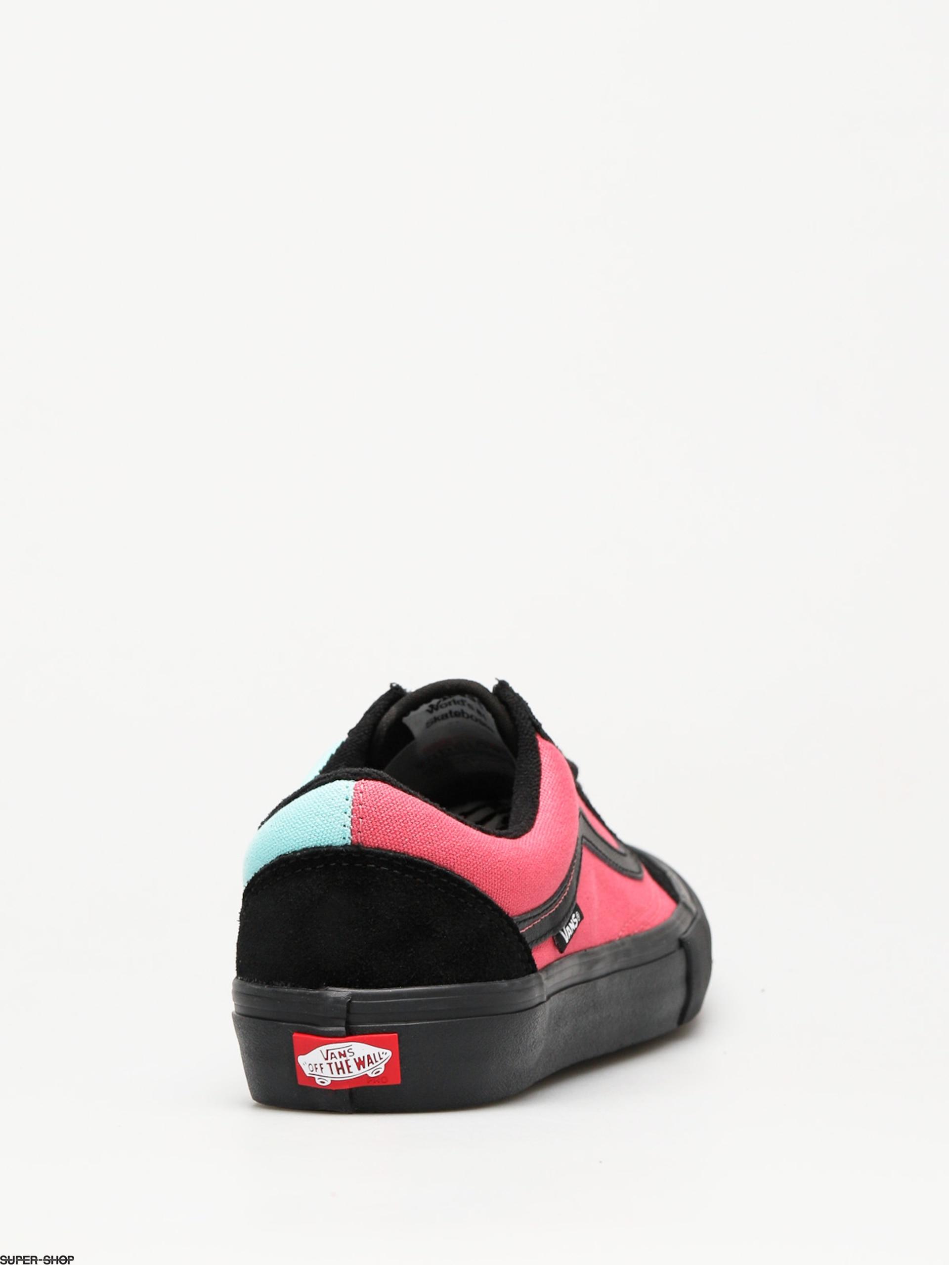 820aeef5b844 Vans Shoes Old Skool Pro (asymmetry black rose blue)