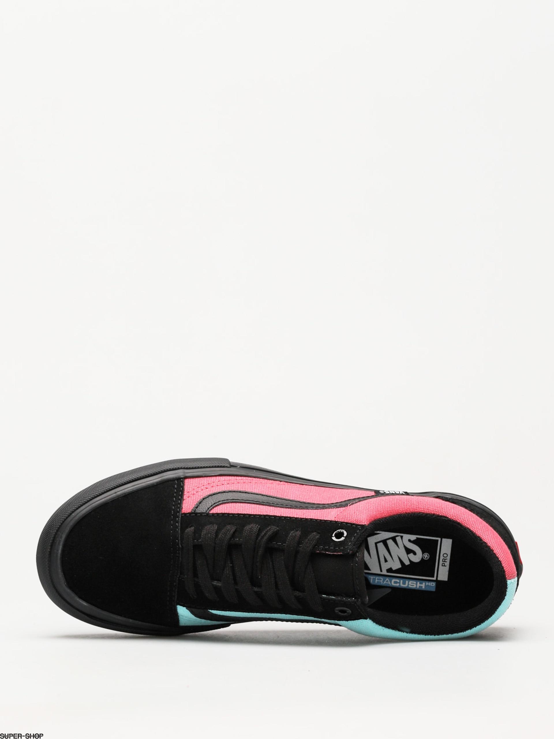 5bf237cac4b6 Vans Shoes Old Skool Pro (asymmetry black rose blue)
