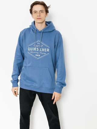 Quiksilver Hoodie Nowhere North HD (bijou blue)