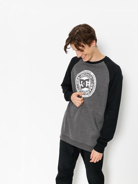 DC Sweatshirt Circle Star (black/charcoal heather)