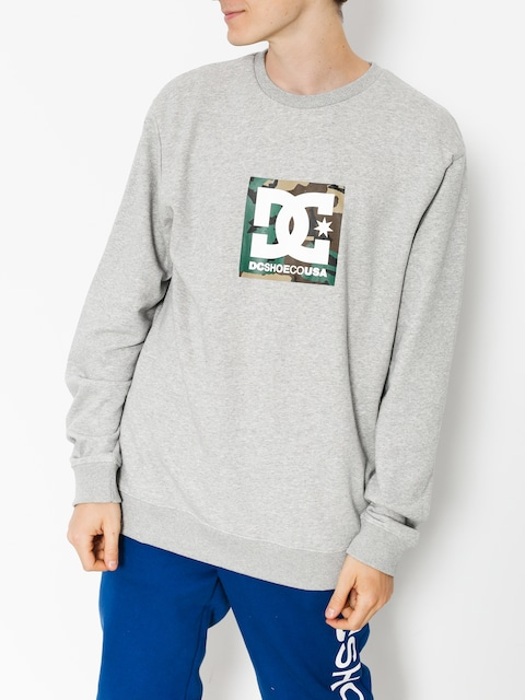 DC Sweatshirt Camo Boxing (grey heather)