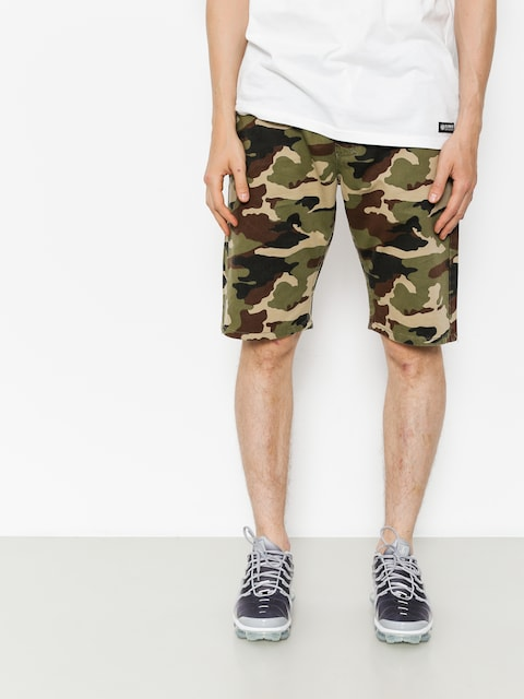 MassDnm Shorts Base (woodland camo)