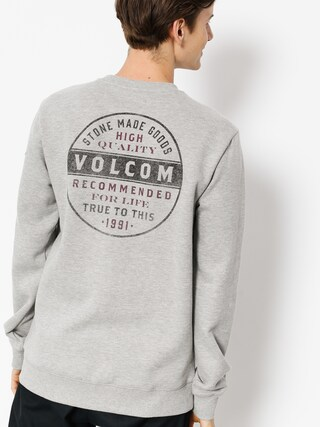 Volcom Sweatshirt Supply Stone Crew (gry)