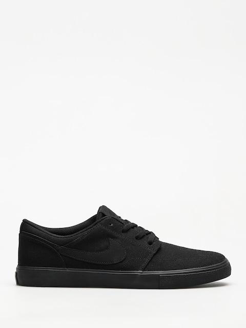 Nike SB Shoes Portmore II Solar Cnvs (black/black)