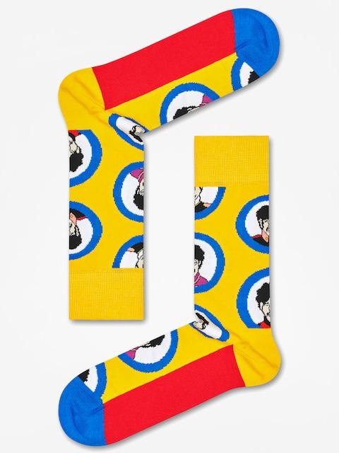 Happy Socks Socken The Beatles (yellow/blue/red)