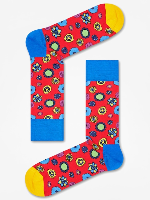 Happy Socks Socks The Beatles (red blue/yellow)