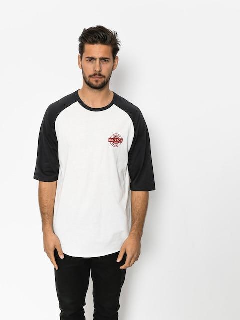 Brixton T-shirt Speedway 1/2 Slv (off white/washed black)