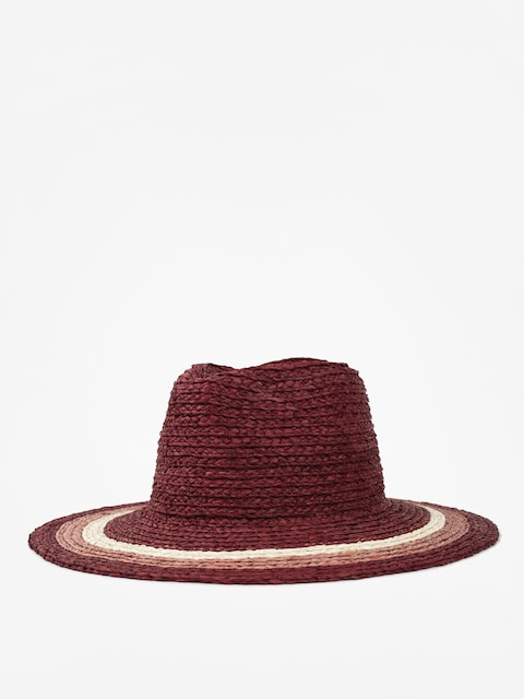 Brixton Hut Hampton Fedora Wmn (red/blush/tan)