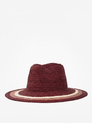 Brixton Hat Hampton Fedora Wmn (red/blush/tan)