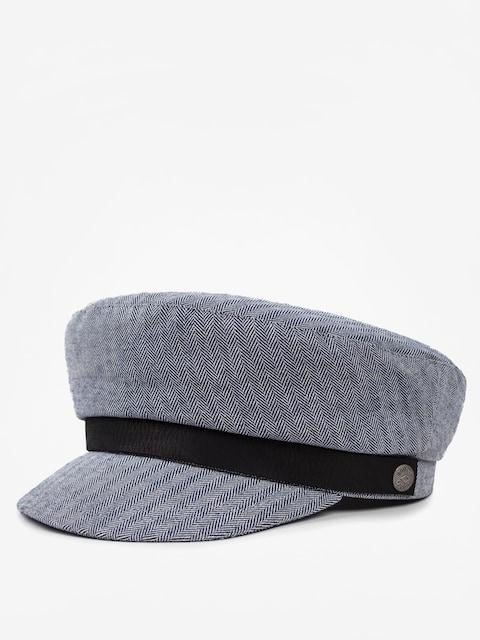 Brixton Flat cap Bosmanka Kurt (navy/white)