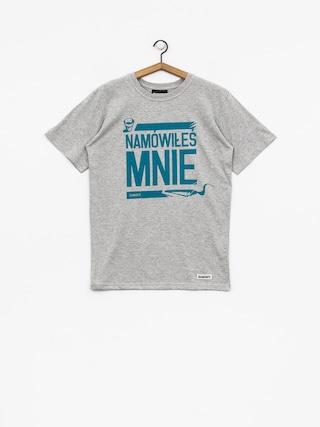Diamante Wear T-shirt Namówiłeś Mnie (grey)