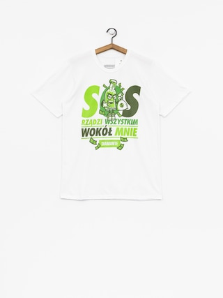 Diamante Wear T-shirt SOS (white)