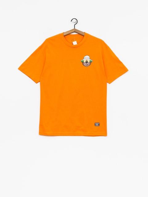Grizzly Griptape T-shirt Bear & Loathing (orange)