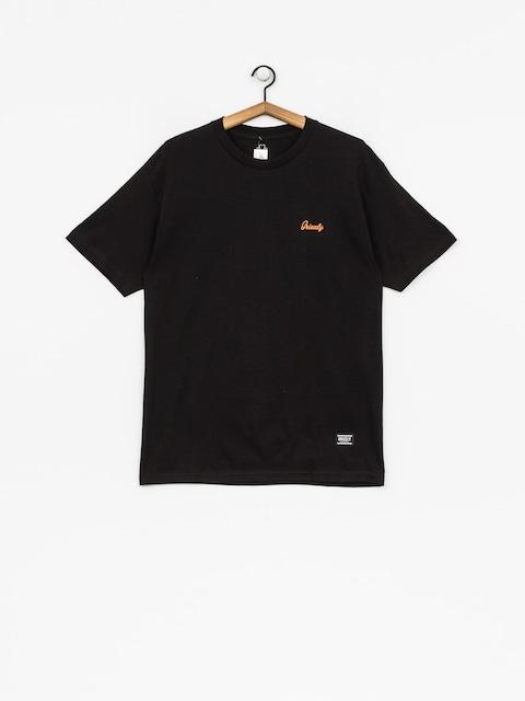 Grizzly Griptape T-shirt Coastal Clique (black)