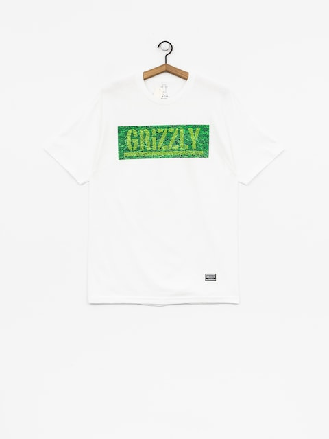 Grizzly Griptape T-shirt Fresh Cut Box Logo