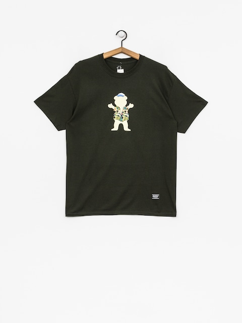 Grizzly Griptape T-shirt Whibig Kahuna Og Bear (forest green)