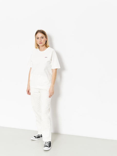 Stussy T-shirt Quinn S Sl Raglan Wmn (white)