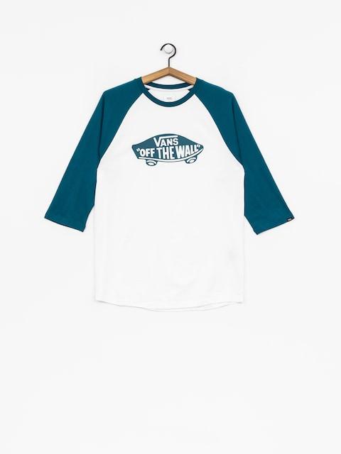 Vans T-shirt Otw Raglan (white/corsair)