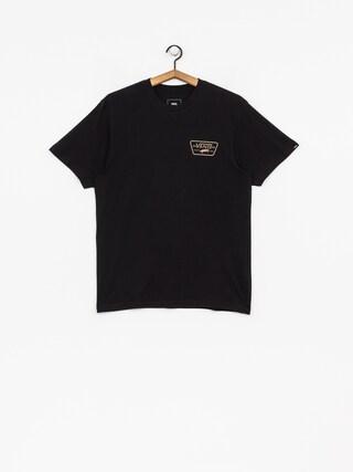 Vans T-shirt Full Patch Back (black/dirt)