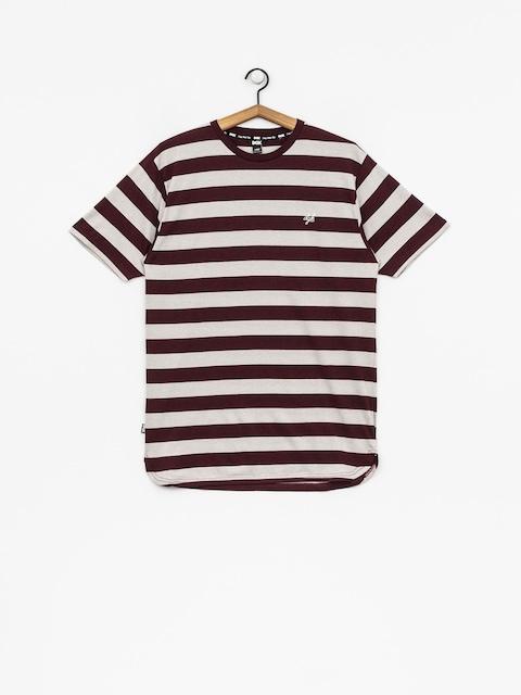 DGK T-shirt Folsom Custom (burgundy)