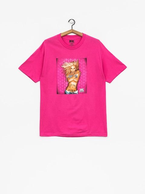 DGK T-shirt Queen B (hot pink)