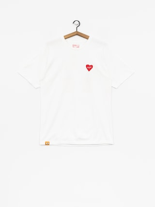 Enjoi T-Shirt Smitten Beer (white)
