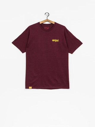 Enjoi T-shirt Pussy Magnet (burgundy)