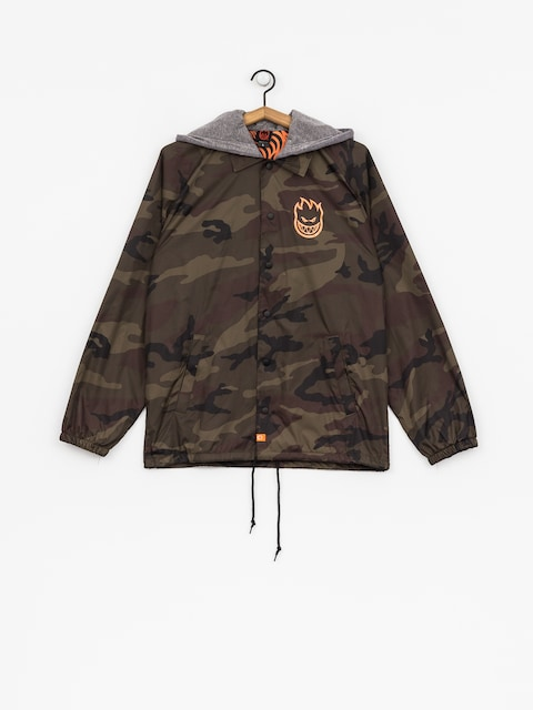 Spitfire Jacket Covert (camo/orange)