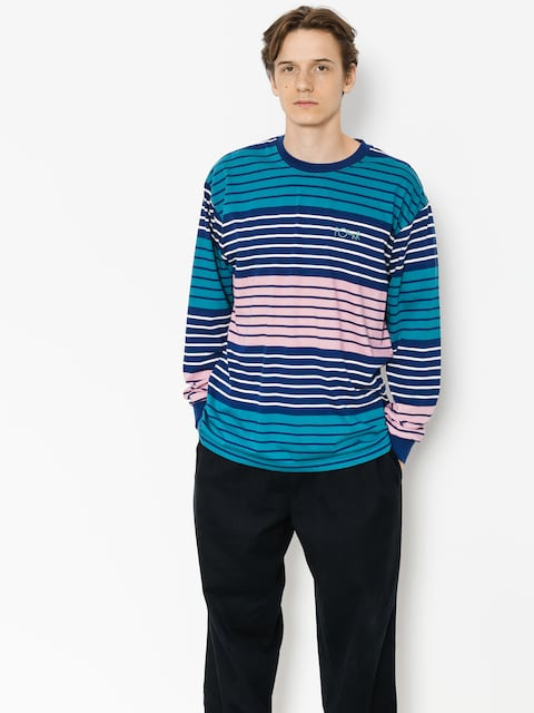 Polar Skate Longsleeve Multi Colour (navy/pink)